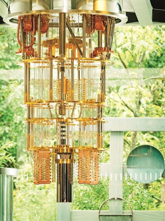 Prototipo de procesador cuántico de 50 qubits desarrollado por IBM